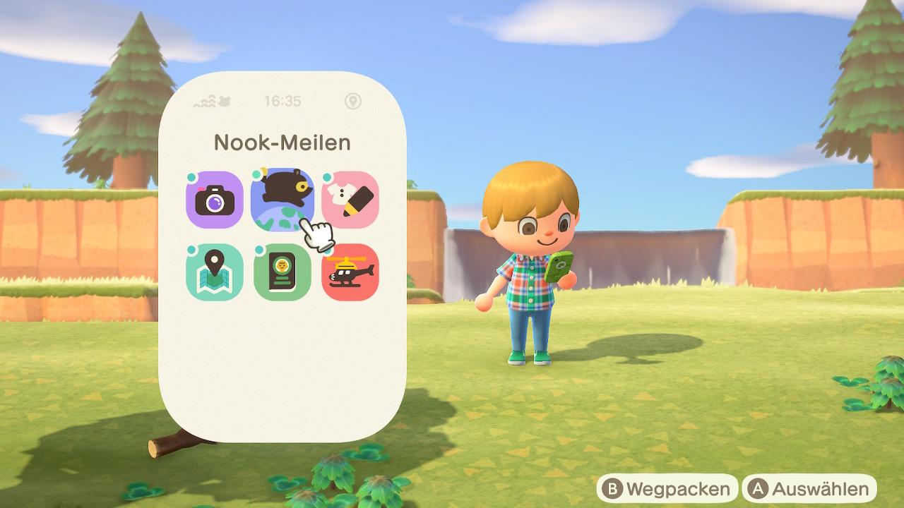 Animal Crossing NookPhone