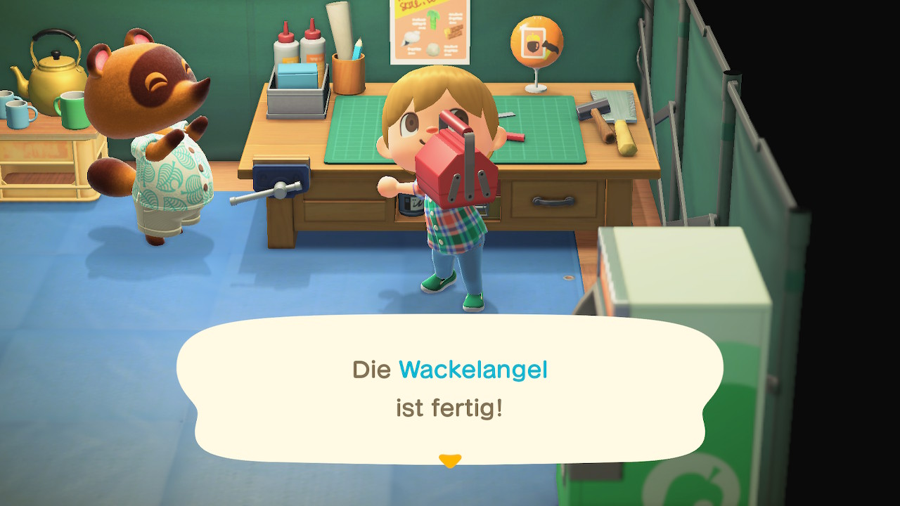 Animal Crossing Werkbank