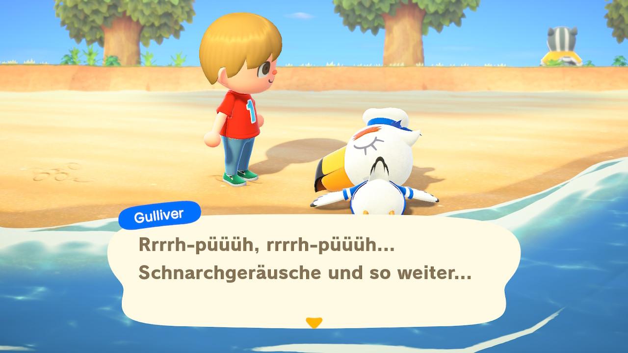 Animal Crossing Soziale Interaktion