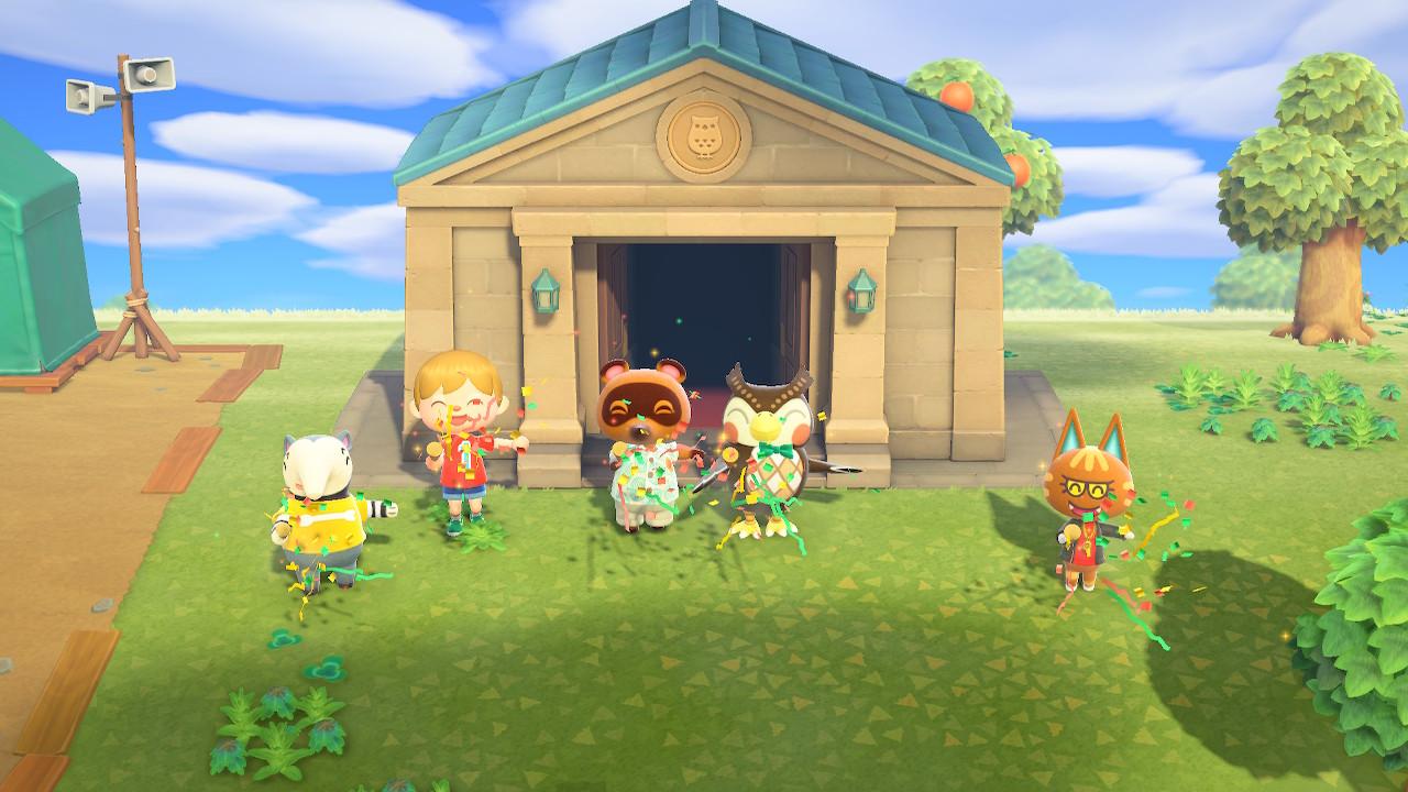 Animal Crossing Museumseröffnung