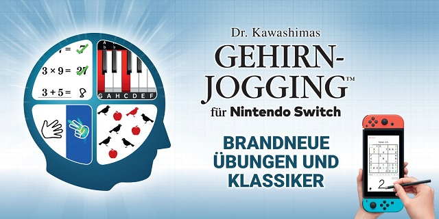Dr. Kawashimas Gehirn-Jogging für Nintendo Switch Beitragsbild