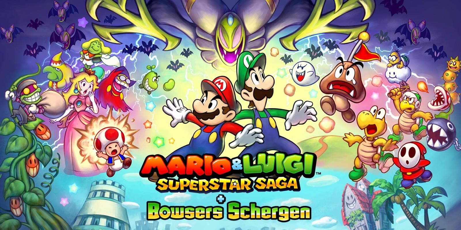 Mario und Luigi Superstar Saga Plus Bowsers Schergen