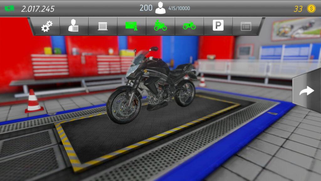 motorrad bewundern