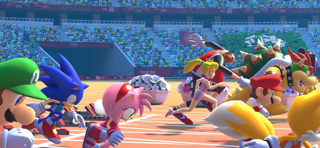 Mario, Sonic und deren Freunde im Sprintduell
