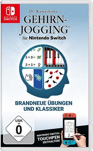 Dr. Kawashimas Gehirn-Jogging für Nintendo Switch Packshot