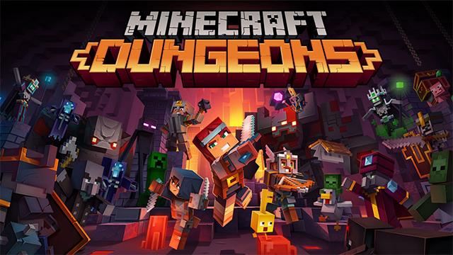 minecraft dungeons thumbnail