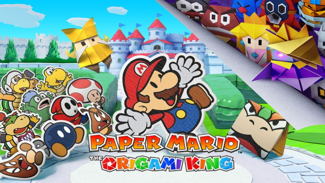 paper mario the origami king thumbnail